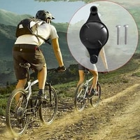 for airtag bike bottle cage holder attachment keychain silicone gps bicycle tracker case protective locator parts h9t6