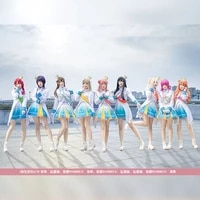 anime lovelive passions yuki setsuna asaka karin all members sj uniform cosplay costume halloween role play outfit stage suit