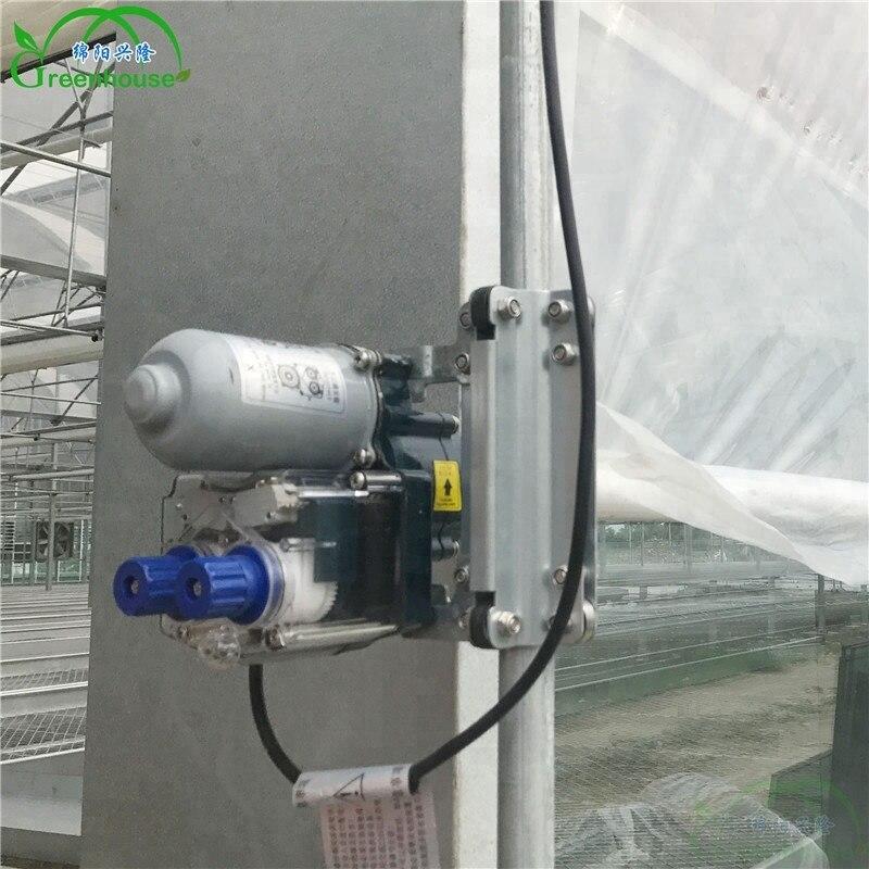 Xl boa qualidade estufa elétrica rolo acima do motor para a ventilação da estufa do filme plástico