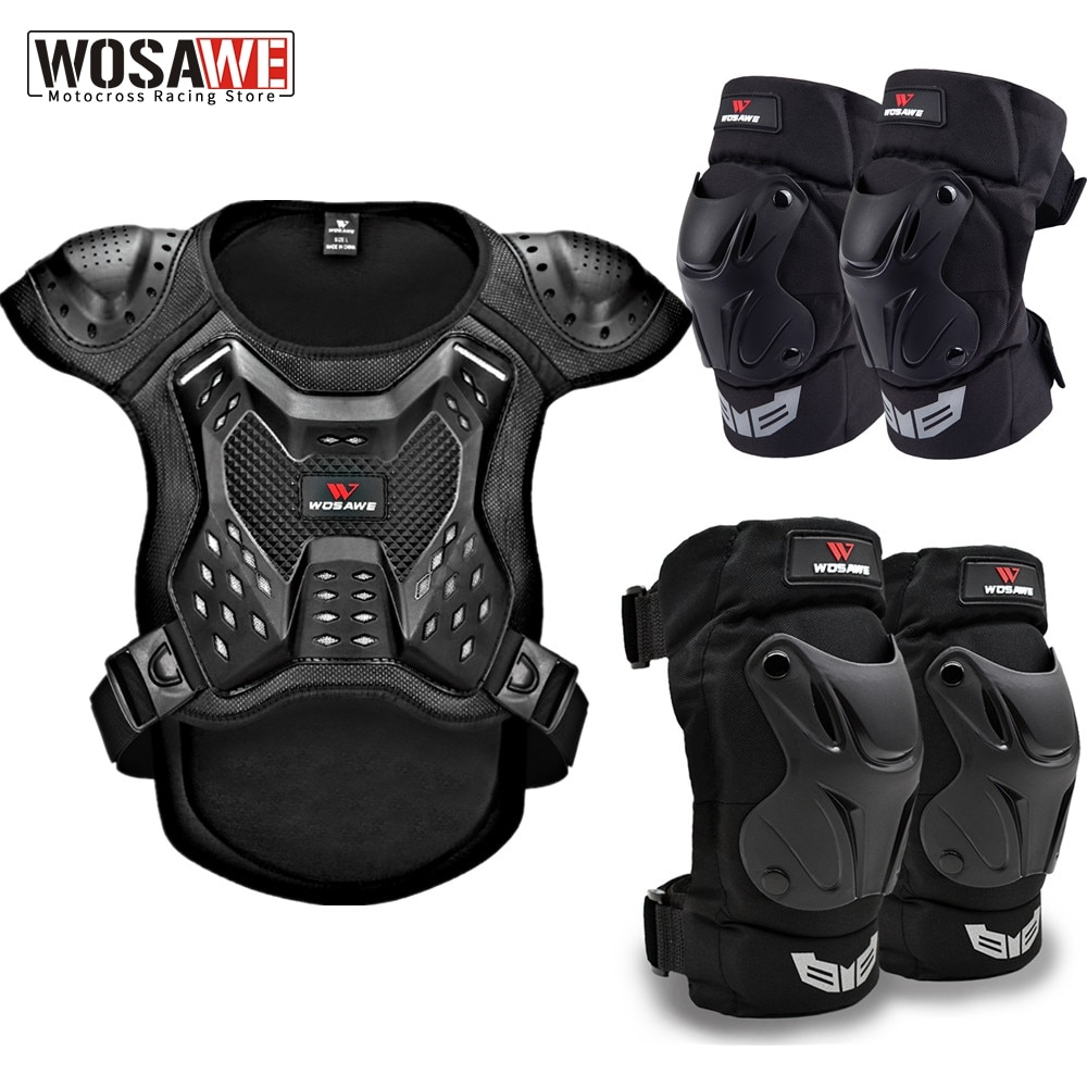 WOSAWE Adult's Motorcycle Armor Vest Racing Chest Protector Cycling Motocross Off-Road Ski Body Protective Snowboarding Jackets enlarge