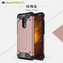 Étui robuste pour Xiao mi rouge mi Note 5 6 7 Pro 4X Plus 4 6A 4A S2 mi A1 A2 6X8 Lite 9 Pocophone F1 étuis PC Silicone