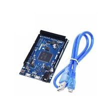 A18 -- pour Arduino Due 2012 R3 bras Version carte de commande principale SAM3X8E 32 bits bras Cortex-M3 / Mega2560 R3 Duemilanove avec câble