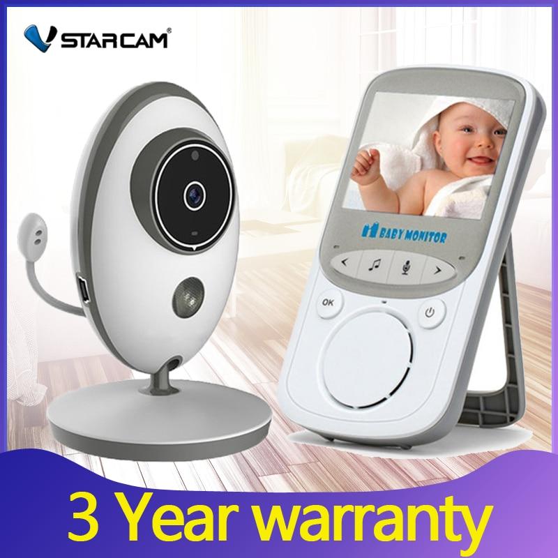 Baby Monitor Audio Video Radio Nanny Music Intercom IR Portable Wireless Video Night Baby Camera Baby Walkie Talkie Babysitter