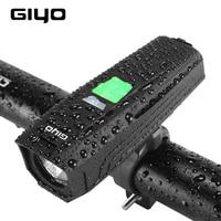 GIYO LR-Y7 T6 LED Waterproof Bike Bicycle Handlebar Front Light Headlight Flashlight USB Rechargeable Lantern Lamp