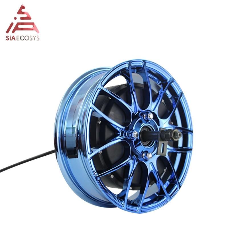 QS 14x4,25 pulgadas desmontable dc electric 3000W 260 40h V4 Motor de cubo de rueda eléctrica BLDC