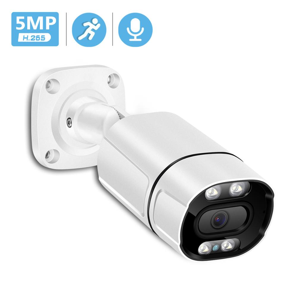 IP-камера видеонаблюдения, 5 МП, 48 В, POE, 3 Мп, 1080P, HD