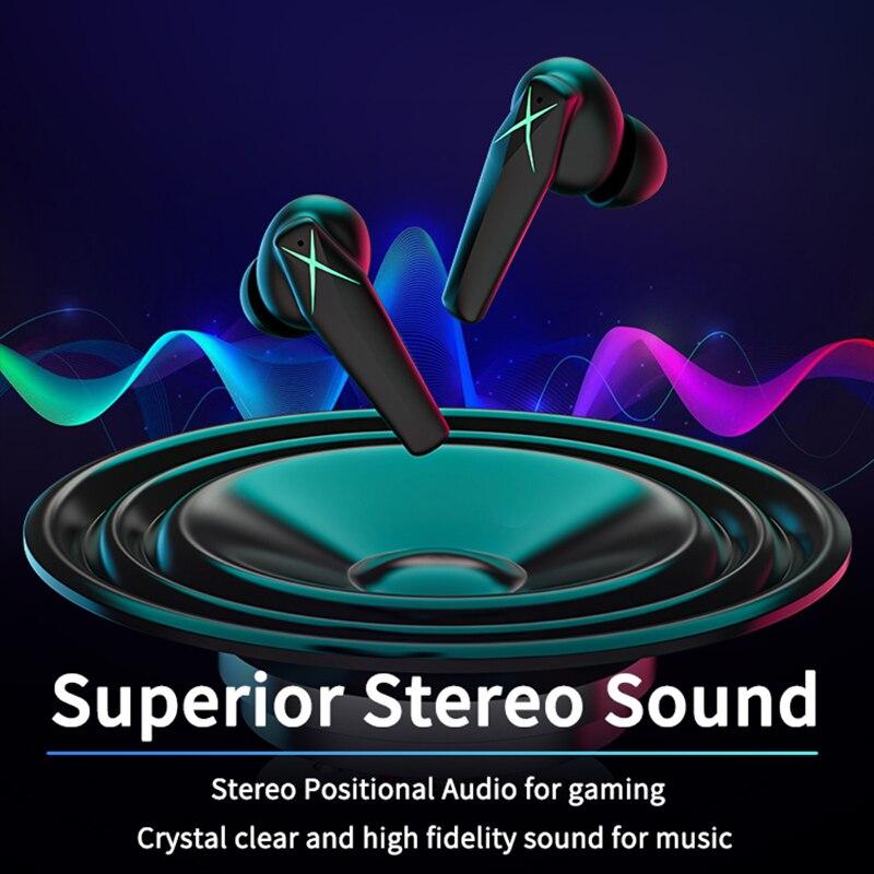 Zime Xhero Bluetooth Earphone Wireless 5.0 TWS Earbuds Headset Low Latency Headphone Stereo Sports Waterproof Noise Reduction enlarge