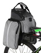 Lixada 13L /25L vélo siège arrière sac étanche vélo vélo support siège sac arrière coffre sacoche banquette arrière sac à main sac à bandoulière