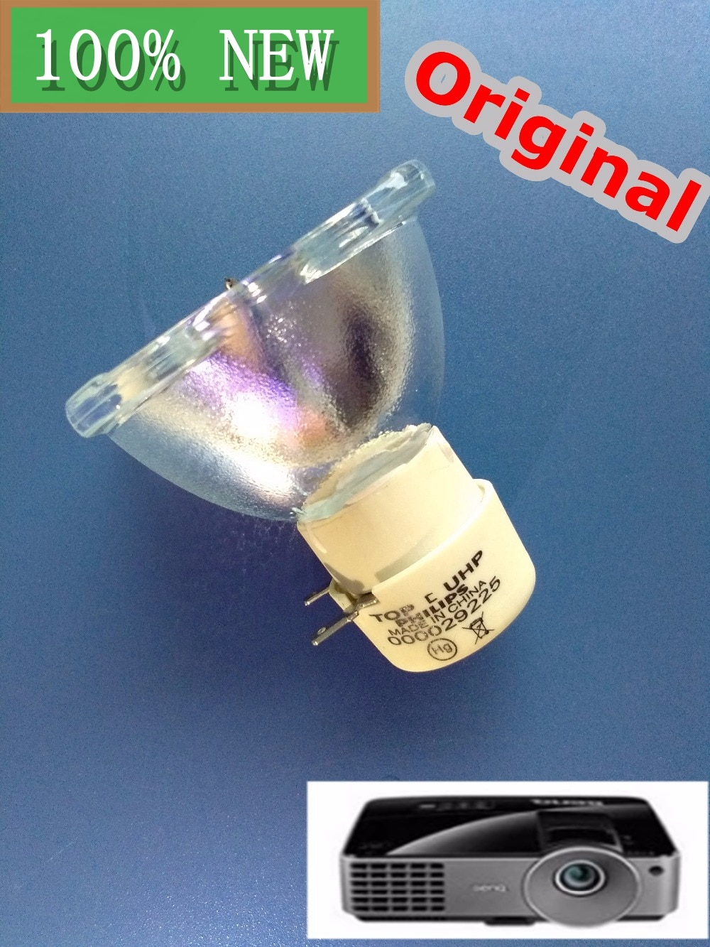 استبدال الأصلي لشركة فيليبس رأس lamp-uhp 190/160 واط لبينكيو العارض
