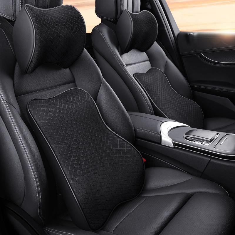Автомобильная подушка на шею, подголовник, подушка, поддержка головы автомобильного сиденья, защита для автомобильного сиденья, подголовни...