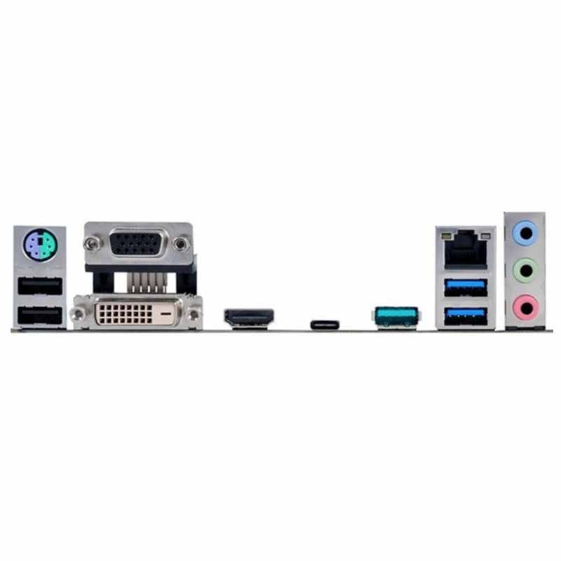 [해외] IO I/O 쉴드 백 플레이트 백 플레이트 백 플레이트 ASUS B85M-G PLUS USB 3.1 용 스테인레스 스틸 블렌드 브래킷