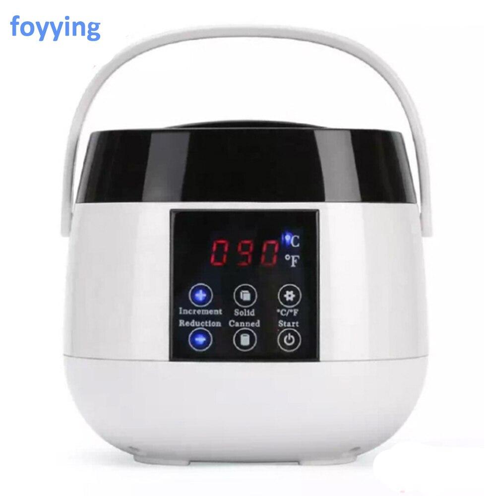 Máquina de foyying con 4*100g cera para depilación corporal depilatoria en salón de belleza-Chaffe cire