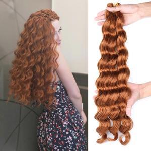 Высокотемпературные синтетические накладные волосы для наращивания, 22 дюйма