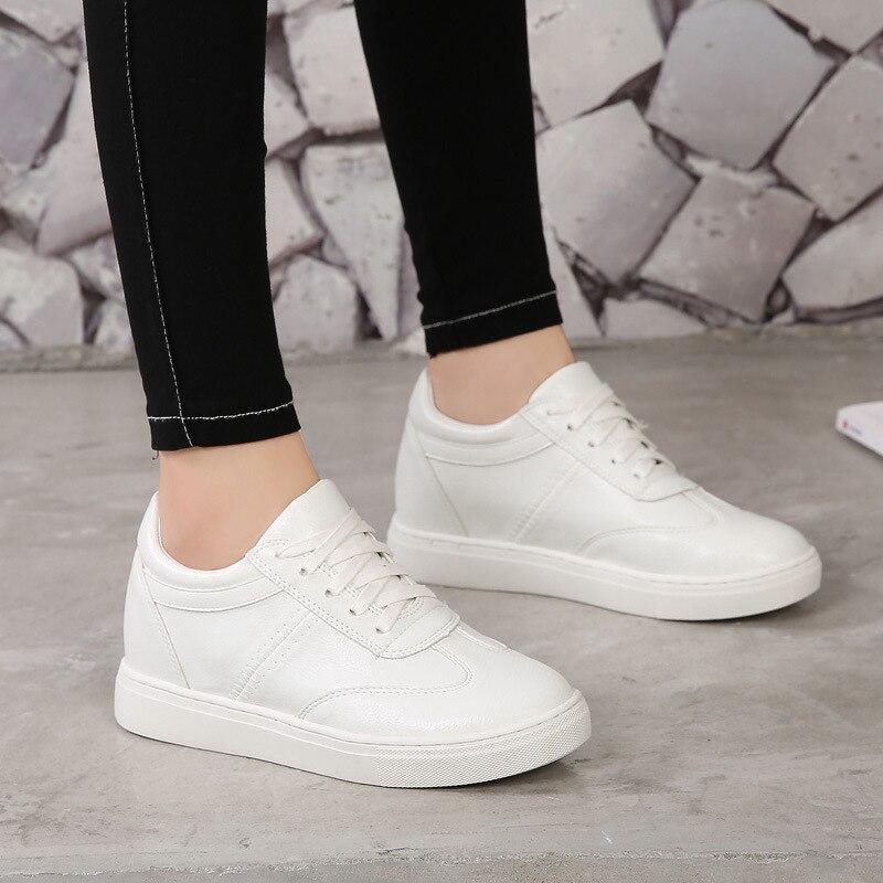 Zapatillas de deporte de verano 2020 para mujer, zapatillas de tenis para mujer, zapatillas informales con plataforma para mujer, zapatillas de deporte a la moda gruesas y altas