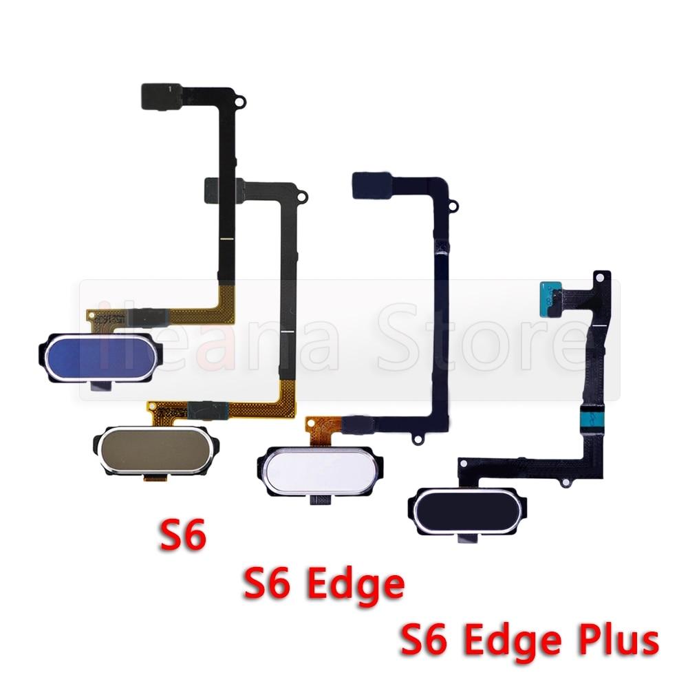 [해외] 삼성 갤럭시 S5 S6 엣지 플러스 + 미니 G920F G925F G928F G900F 오리지널 홈 버튼 터치 ID 지문 센서 플렉스 케이블
