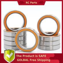 6702RS Cuscinetto ABEC-3 (10PCS) 15*21*4mm Sezione Sottile Cuscinetti A Sfera 6702-2RS 61702 RS 6702 2RS Con Orange Sigillato