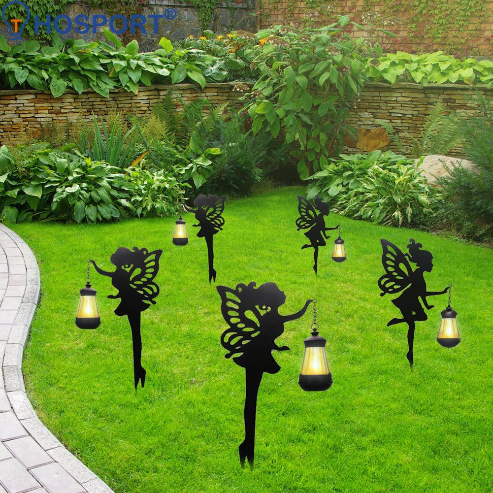 2 قطعة LED الشمسية زهرة الجنية فانوس ضوء مقاوم للماء في الهواء الطلق حديقة الحديقة حصص مصابيح ساحة الفن للمنزل فناء الديكور