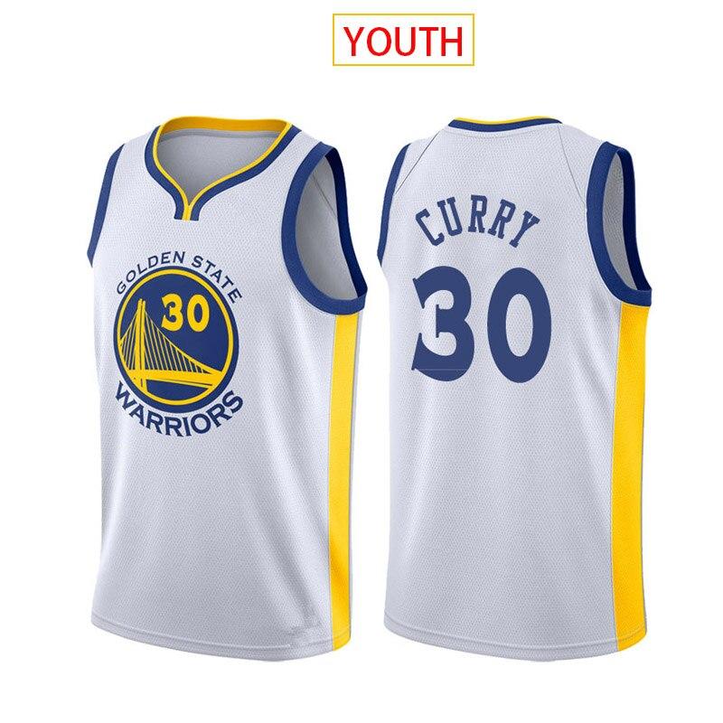 Camiseta de baloncesto de la NBA de la juventud 30 Curry 23...