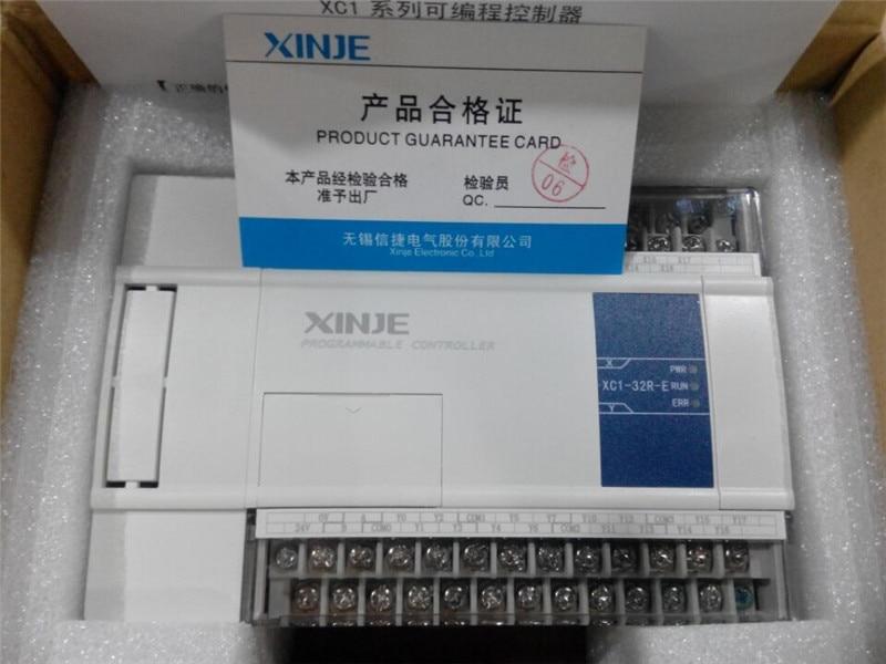XC1-32R-E XC1-32T-E xinje XC1 سلسلة PLC AC220V دي 16 تفعل 16 جديد في مربع