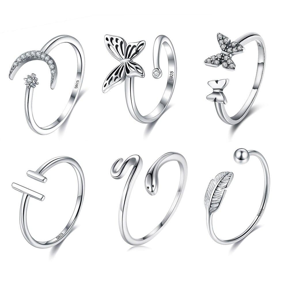 Женское-кольцо-в-виде-змеи-регулируемое-Открытое-кольцо-из-стерлингового-серебра-925-пробы-с-жемчугом-и-цирконием-ювелирные-украшения-коль