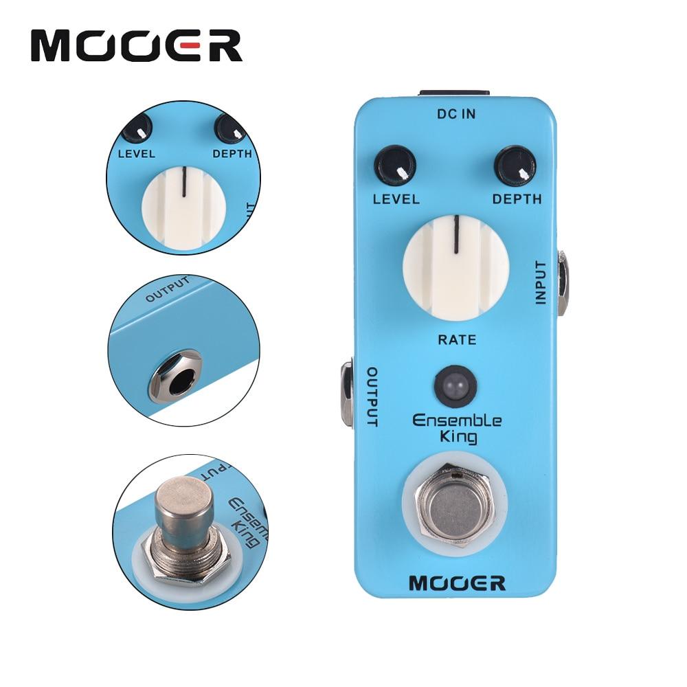 Mooer Guitar Effect Pedal Chorus Pedal Guitar Electric Acoustic Effector Mch1 Ensemble King True Bypass Analog Chorus Processor