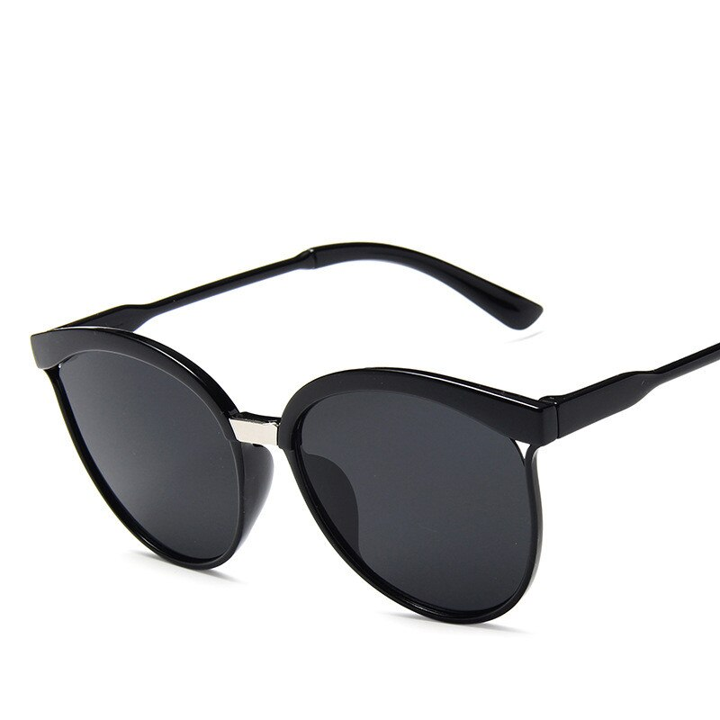Retro Designer Super Round Circle Glasses Cat Eye Men Sunglasses Full Frame Glasses Driver Goggles