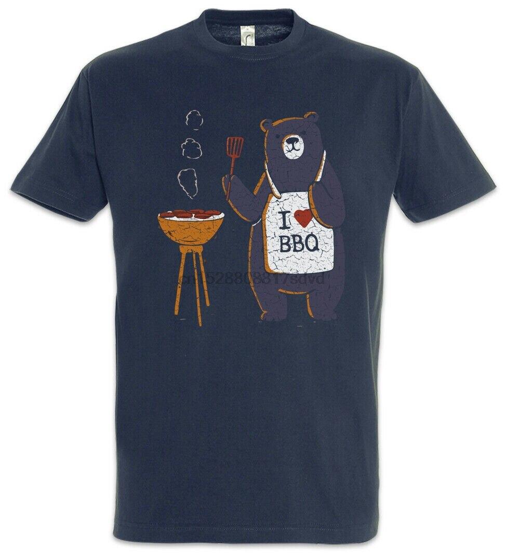 Parrillas de oso camiseta barbacoa Grill Grylls hamburguesa Steak Steaks Grillen