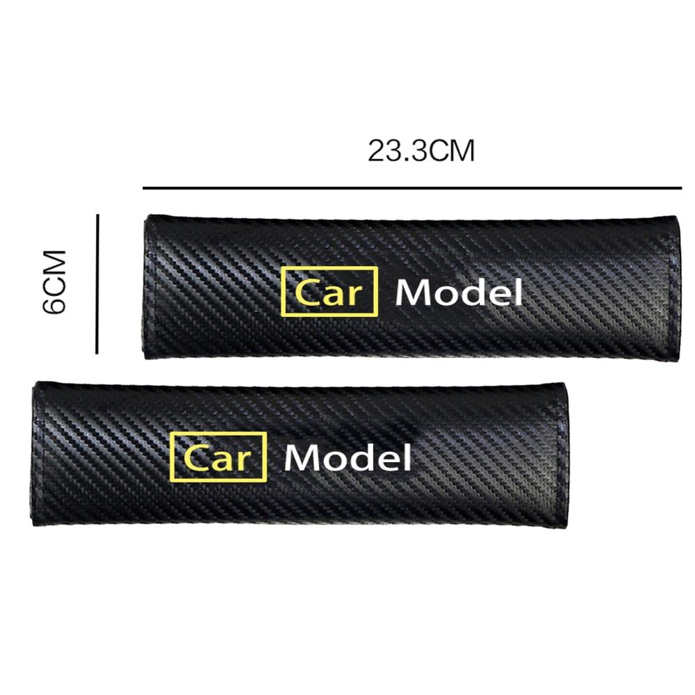 Fundas protectoras para cinturón de seguridad, 2 uds., para Chevrolet, Malibu, Camaro,...