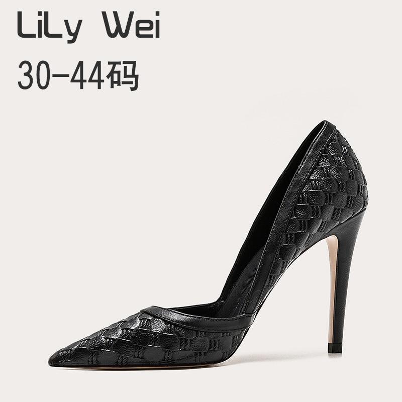 2021 جديد صغير عالية الكعب 313233 رقيقة كعب كبير أحذية نسائية 41-43 وأشار حذا فردي للسيدات 40