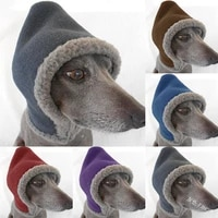 pet dog hat warm and velvet hat lamb plush cute dog cat headgear dwarfs cosplay accessories winter outdoor cold protection cap