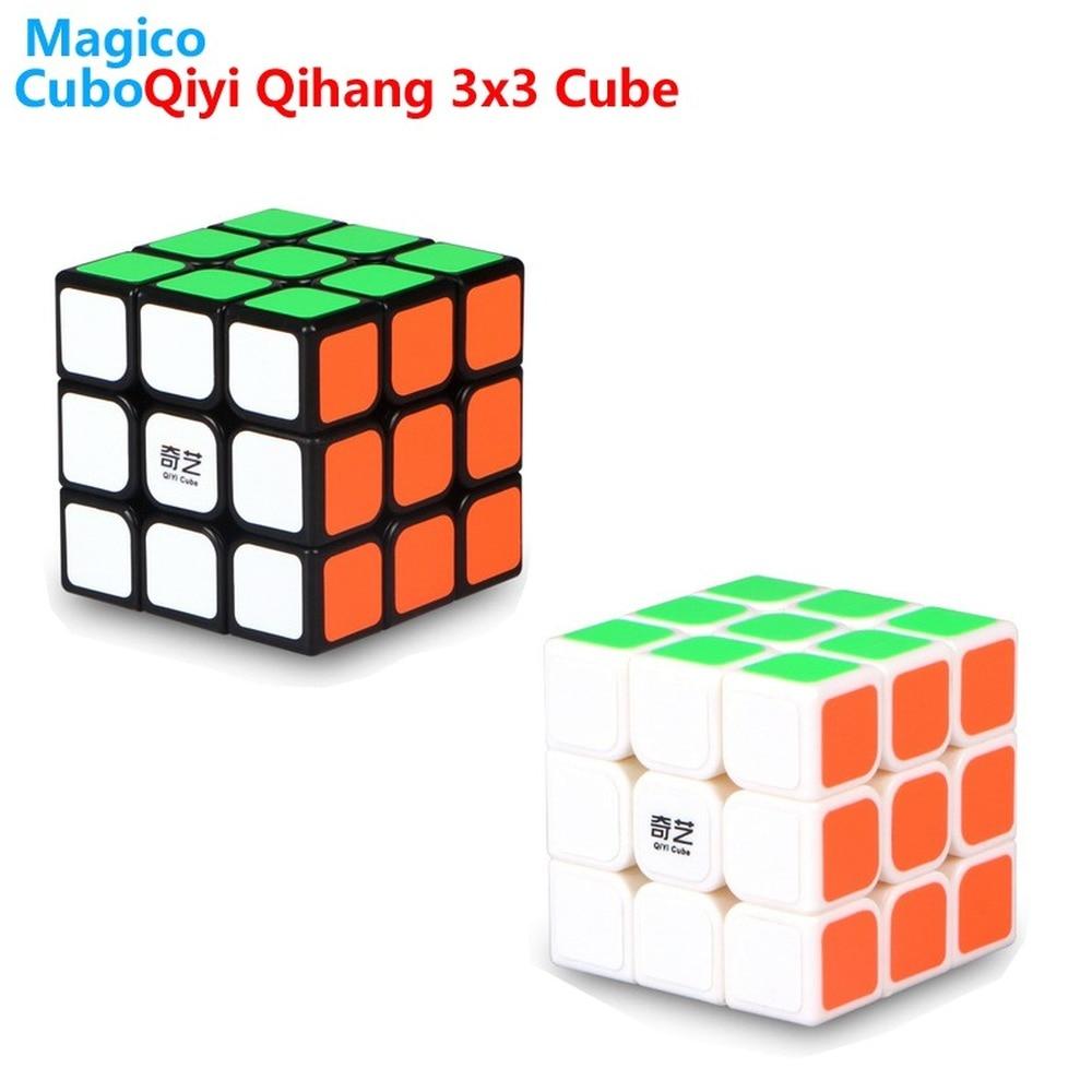Qiyi Qihang 56mm mini 3x3x3 Speed Magic Cubes Puzzle Educational Games for Kid 3x3 Sail W Cube Antistress Toys for Adults Puzzle qiyi sail w 3x3x3 magic cube speed cubes puzzle neo cube 3x3 cubo magico educational toys professional 3x3 speed cube