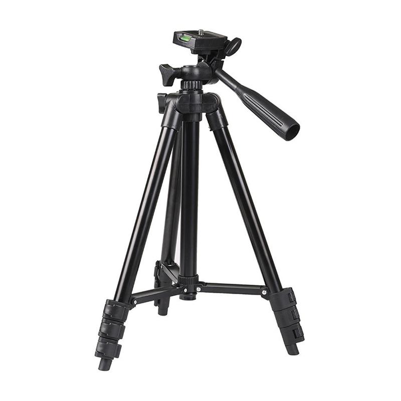 Tripé para câmera canon nikon sony dslrs, tripé para câmera canon e nikon, com suporte para tablet