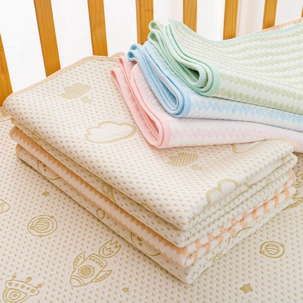 Baby Diaper Changing Mat Baby Changing Pad Absorbent Cotton Baby Mattress Waterproof Nappy Soft Newborn Reusable Urinal Mat