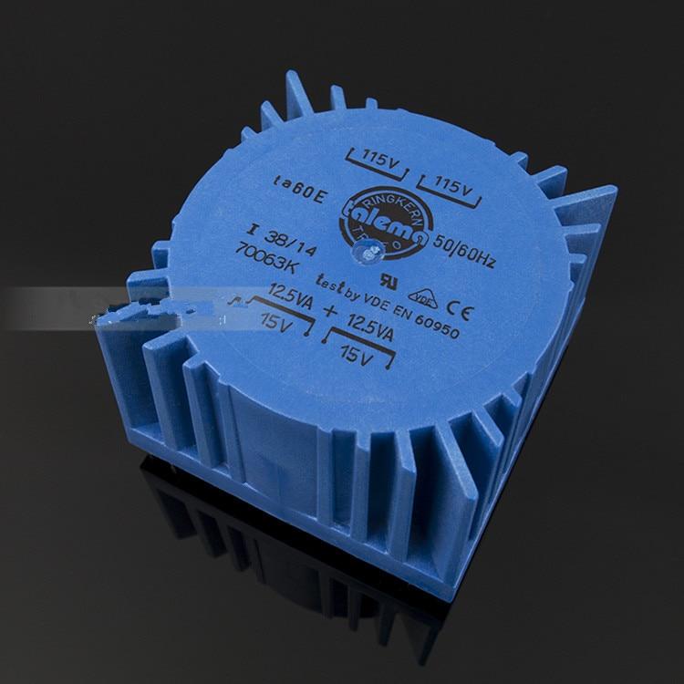 25VA TALEMA Versiegelt Transformator eingang 115V * 2 ausgang 7V 9V 12V 15V 18V gute für linear netzteil/dac preamp amp audio