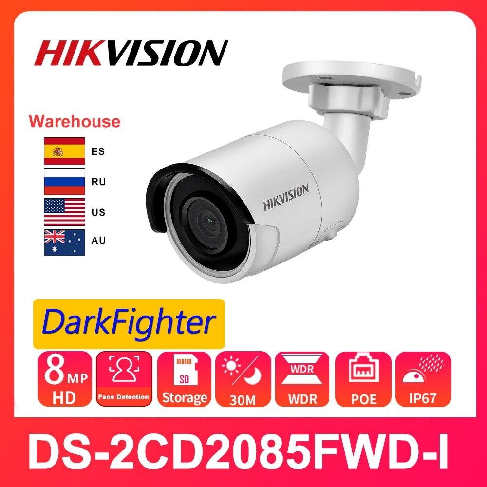 Hikvision-cámara IP IR de 8MP, Original, DS-2CD2085FWD-I, 4K, 30M, cámara fija de...