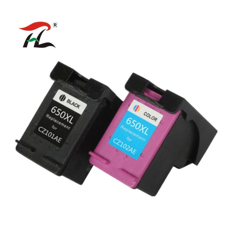 YLC 1 комплект 650XL совместимый чернильный картридж для HP650 650XL для HP Deskjet Advantage 1015 1515 2515 2545 2645 принтер