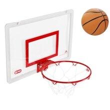 Puerta colgante caliente tablero de baloncesto ponche-libre colgante transparente Mini-tablero de juguete para niños artículos deportivos baloncesto