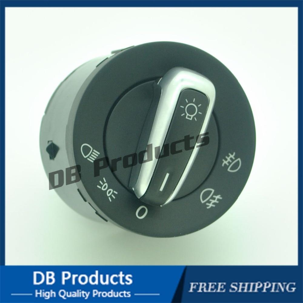 Nuevo interruptor de cabeza de Control de faros para Ajuste para VW GOLF VI JETTA MK5 MK6 PASSAT CC B6, 5ND 941 431A, 3C8 941 431C