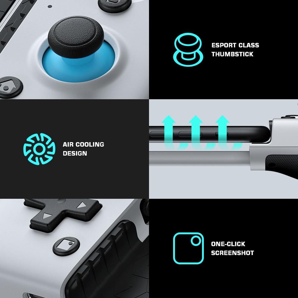 Mobile Gamepad Game Controller for Xbox Game Pass, PlayStation Now, STADIA, GeForce Now, Cloud Gaming [All series] enlarge