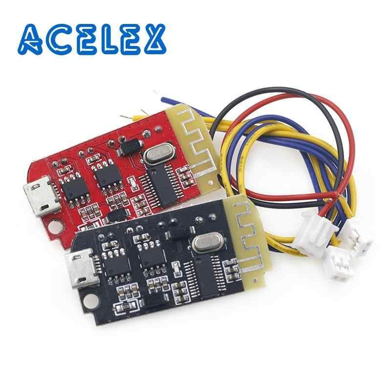 Dc 3 7 V 5v 3w Digital Placa De Amplificador De Audio Doble Dual De Bluetooth Altavoz Modificación Música De Sonido Módulo Micro Usb Diy Circuitos Integrados Aliexpress