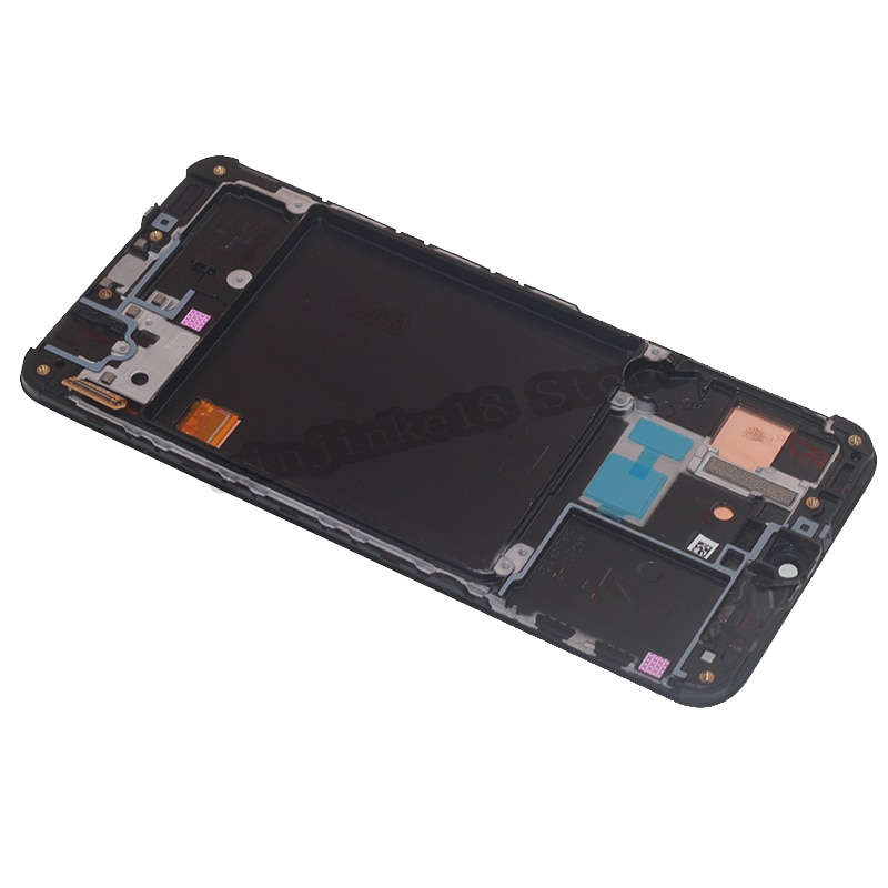 AMOLED For Samsung A40 2019 A405 LCD Display Touch Screen Digitizer Assembly Repair Parts For Samsung A405FM/DS Repair kit Frame enlarge