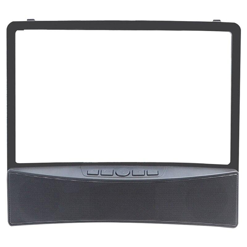 Amplificador de pantalla de teléfono de 10 pulgadas, lente HD, amplificador de pantalla curvada para teléfono móvil, Altavoz Bluetooth incorporado