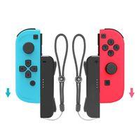 1 пара игровых аксессуаров, ремешок на запястье, ремешок на руку, шнурок для Nintend Switch Joy-con, фитнес, боксерская игра, снаряжение с рукояткой