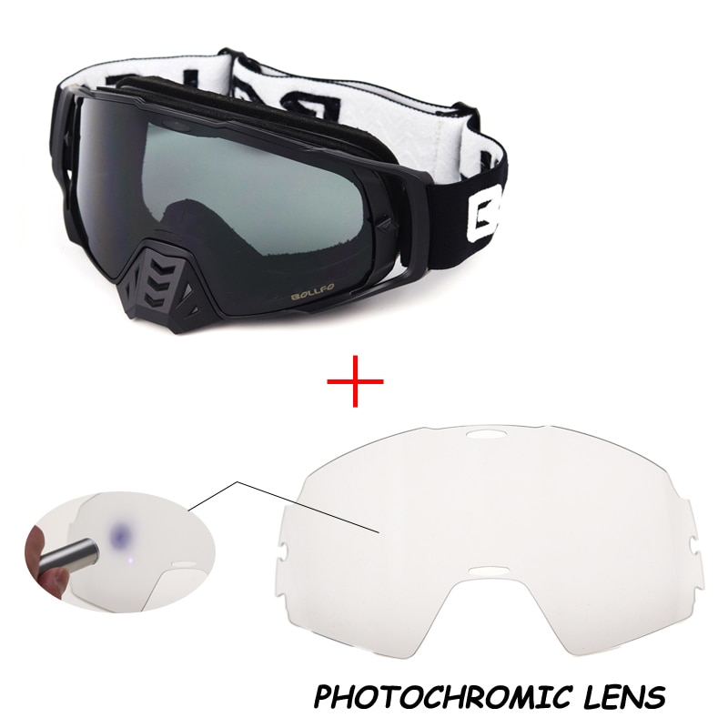 AliExpress - Photochromic Motocross Glasses Goggles Off-Road Helmet UV400 MX Goggle Dirt Bike DustProof Racing Glasses Eyewear Helmets Goggle
