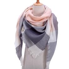Concepteur 2020 tricoté printemps hiver femmes écharpe plaid chaud cachemire écharpes châles de luxe marque cou bandana pashmina dame enveloppement