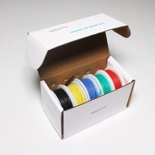 Flexible Silikon Draht Kabel linie 5 farbe Mischen paket Verzinnt Kupfer litze Elektrische Drähte DIY