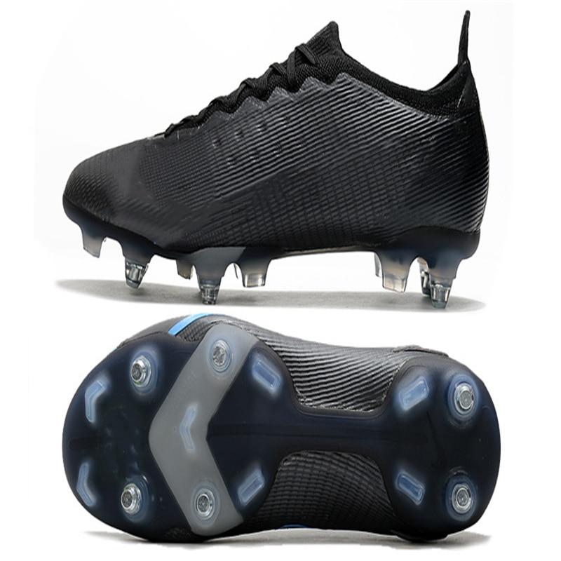 Novos Sapatos Masculinos Mercurial Vapor XIV SG De Cano Baixo, adequados Para Tênis SG De Futebol De Grama Ao Ar Livre