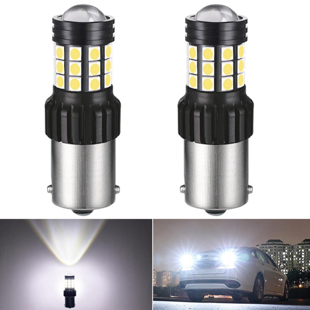 2x 1156 p21w ba15s w16w 921 t15 carro led reverso lâmpada de backup auto 12v para mitsubishi outlander lancer 10 9 galant asx