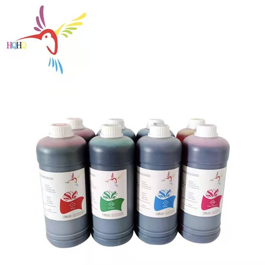HQHQ 8 renkler/Set 500ml boya Canon için mürekkep IPF 8110/9110 yüksek kaliteli su bazlı boya mürekkep Canon için mürekkep IPF 8110/9110 yazıcı