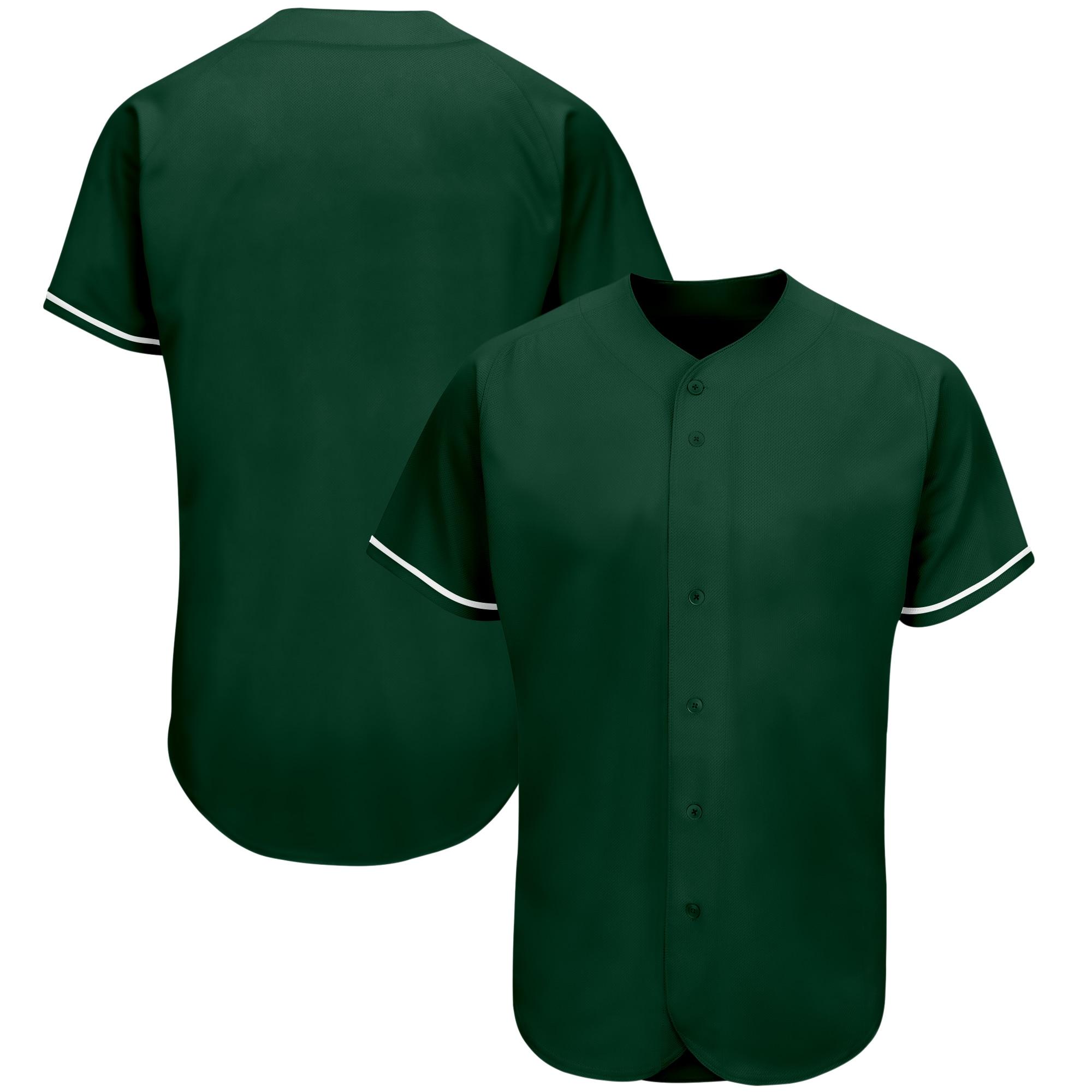 Новые дешевые мужские бейсбольные Джерси без рисунка под заказ, спортивные футболки для спортсменов, униформа для чирлидинга